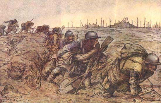 Les français à Verdun - 1916 Dessin6